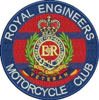 RE Motorcycle Club Badge